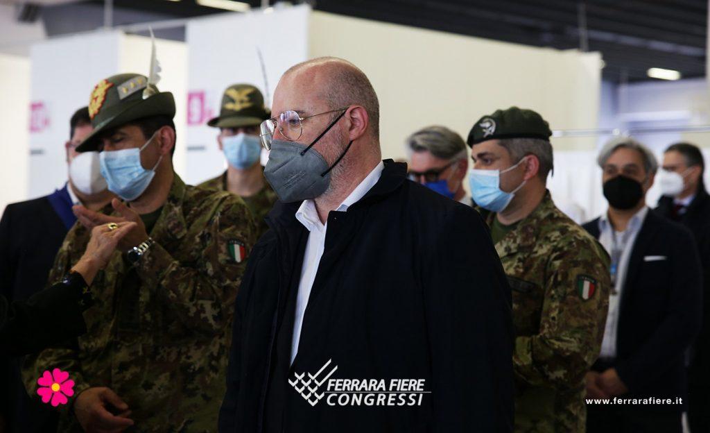 Generale_Figliuolo_Fiera_Ausl_Vaccino_Visita_Ferrara