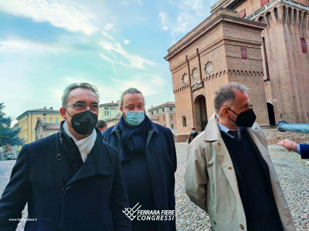 Sindaco di Ferrara, presidente Moretti e ministro Garavaglia