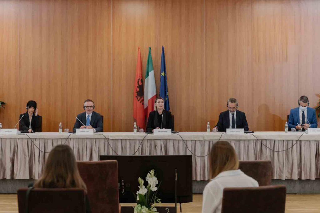 Rapporti_Bilaterali_Italia_Albania_AndreaMoretti_Ferrara_Fiere_Congressi_2021_Conferenza_Stampa